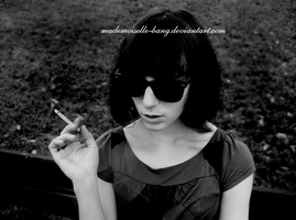 cigarette smoker. by mademoiselle-bang