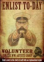 Volunteer for the ww1 artists by GeneralVyse