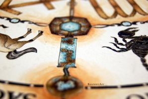 Zodiac clock 3 by RhapsodyArt