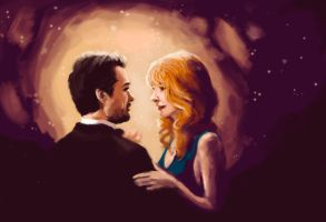 Tony and Pepper by ImperfectSoul