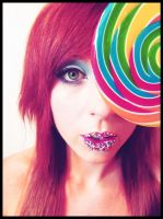 Candy Lips and a Lollipop by Foreveryoursalways