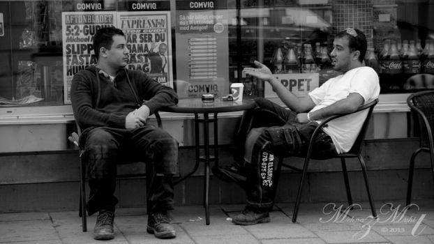 A conversation [Street Life Series] by iMehnaz
