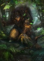 Masters of The Universe Fanart BEASTMAN by Okmer