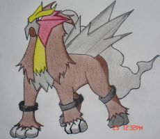 Entei by Asparticus