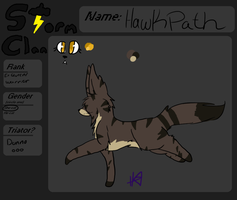Hawkpath ref -FINALLY- by Queenlugia