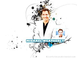 Michael Weatherly.. by KissofCrimson