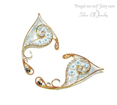 Forget me not - fairy ears by Lyriel-MoonShadow