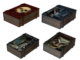 Witches Books PNG Stock by Jumpfer-Stock
