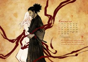 Calendar 2011: November by cynthiafranca