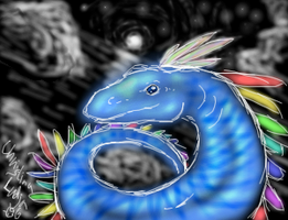 Luck dragon by Ludjia