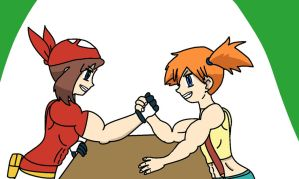 May Vs Misty by mud666