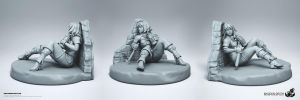 Beyond the Wall Miniature by HecM