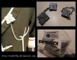 How to make: Vampire Knight Jewelry by YoshiFHP