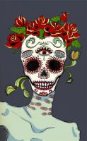 Calavera Mon Amour by tot3mica