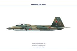 Fantasy 198 F-22 USSR by WS-Clave