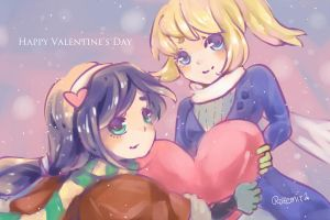 Happy Valentine's Day! by rozemira