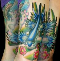 Blue Sea Slug / Sea Swallow by Sirius-Tattoo