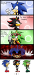 Sonic stupid mini comic by Kyuubi83256