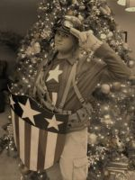 Cap wants YOU to have a Merry Christmas! by Starkiller-Cosplay