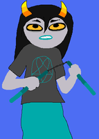 Homestuck Fantroll: Zillan Fllores by TheYaoiLover24