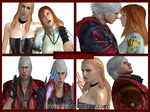 Funny Time in Devil May Cry by kasushka