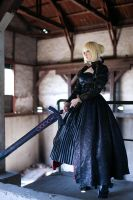 Fate Saber Alter by Velvetroseclare