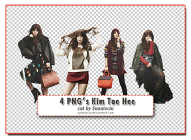 {Taking Request} 4 PNG's Kim Tae Hee by SunnieCiu