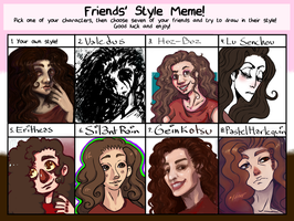 Friend Style Meme! by MyEmeraldTears