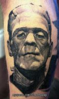 frankenstein tattoo by simonhayag