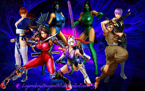 Kunoichi Fighters by LegendaryDragon90