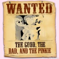 The Good, the bad, and the Pinkie by snakeman1992