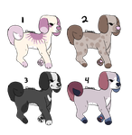 Adoptable Puppies (MOST OPEN) by Schuffles