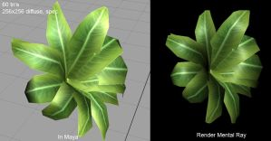 low poly plant by PolyMune