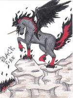 Black Fire by dyingbreed666