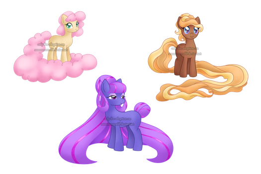 MLP Adoptables 01 by SummersWorld