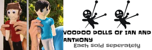 VOODOO DOLLS of Ian and Anthony by samcollends