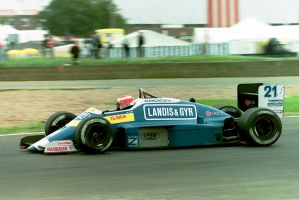 Alex Caffi (Great Britain 1987) by F1-history