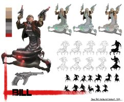 Kill Bill Sci-Fi Redesign Bill by thecreatorhd