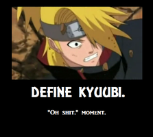 Deidara - Motivational Poster by DangerousEmotions101