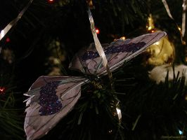 Christmas butterfly by Christina-Frenesia