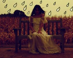 raindrops keep falling on me by TheWhiteNight