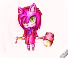Chibi amy by mixlou