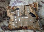 Pillow with applique by LasmejaLora