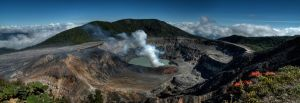 Poas Volcano in Costa Rica by otas32