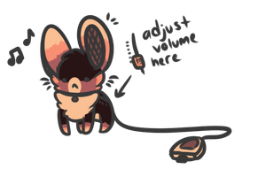 Portable Mouse Speaker Auction CLOSED by campfyre