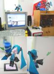 Hatsune Miku Papercraft by KOIgroupmember1