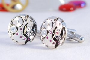 SteampunkCufflinks by Henri-1