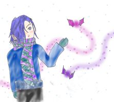 Zexion and the winter pixies by ANlM