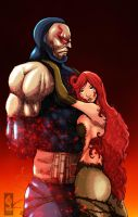 Darkseid and Poison Ivy by Ricsnake