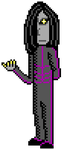 Bad guy sprite practice - Cain by Amayirot-Akago